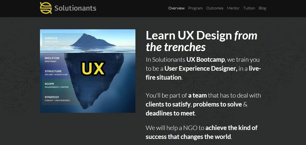Solutionants UX Bootcamp