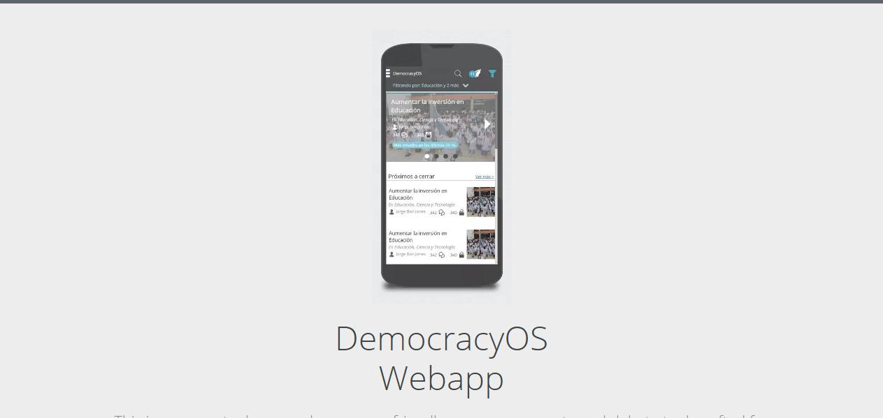 DemocracyOS Webapp